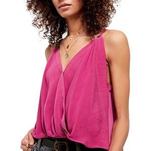 Free People NWT All Mine Tank Top Large Pink